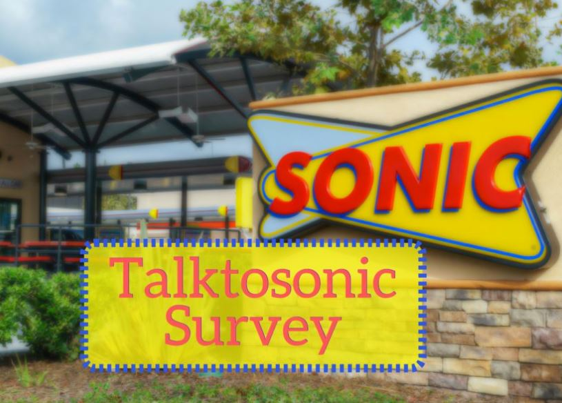 Participate in TalktoSonic Survey for Customers