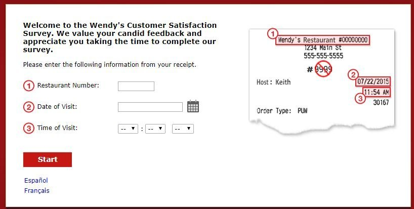 Free Wendy's Coupons Survey